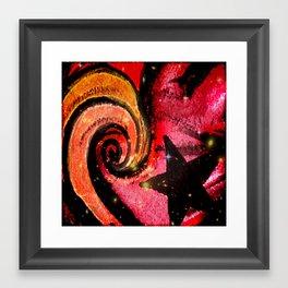 Star Flare Framed Art Print