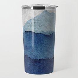 Water color landscape  Travel Mug