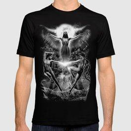 VI. The Lovers Tarot Illustration T-shirt