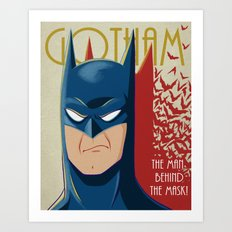 Gotham #3 Art Print