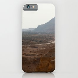 Dead Sea from Masada iPhone Case