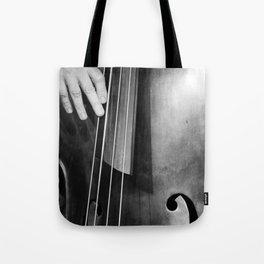 Jazz Bass Poster Tote Bag