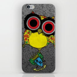 Printed Owl iPhone Skin