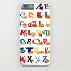 Fast Food Alphabet iPhone 6s Slim Case