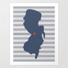Trenton, New Jersey Art Print