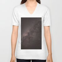 night sky V-neck T-shirts featuring Night Sky by Brandon La'akea