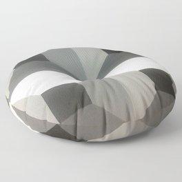 Original Geometric Design by Dominic Joyce Floor Pillow