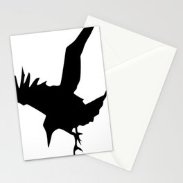 Raven A Halloween Bird Of Prey  Stationery Cards