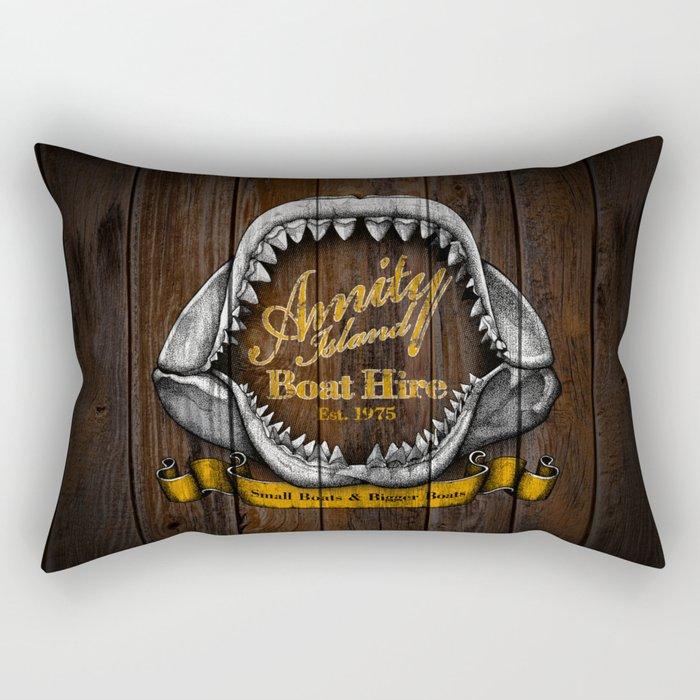 Amity Island Boat Hire Rectangular Pillow