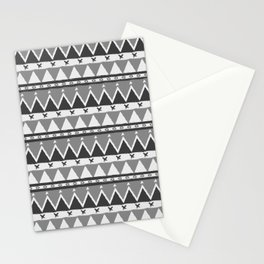 Ethnic gray Stationery Cards