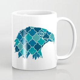 EAGLE SILHOUETTE HEAD WITH PATTERN Coffee Mug