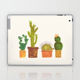 Hedgehog and Cactus (incognito) Laptop & iPad Skin
