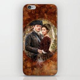 Autumn outlander iPhone Skin