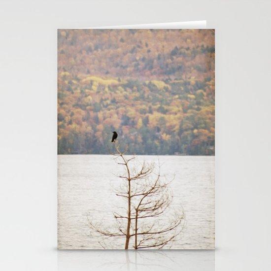 Fall Bird Stationery Cards