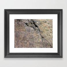 The Cracken Framed Art Print