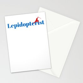 Top Lepidopterist Stationery Cards