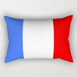 Drapeau français Rectangular Pillow