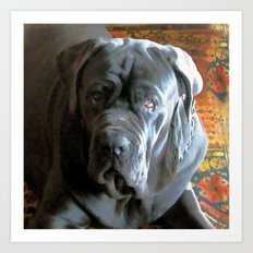 My dog Ovelix! Art Print