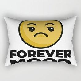Eye Roll Forever Mood Rectangular Pillow