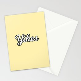 yikes II Stationery Cards