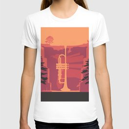 Music Mountains No. 3 T-shirt