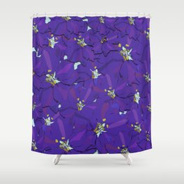 Larkspur Love Shower Curtain