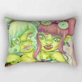 Plus Size Vixen: Big boned & Big Hearted Rectangular Pillow