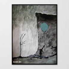 Heaven Is Abandoned/This Empty Illusion Canvas Print