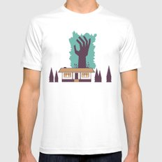 The Cabin in the Woods Mens Fitted Tee MEDIUM White