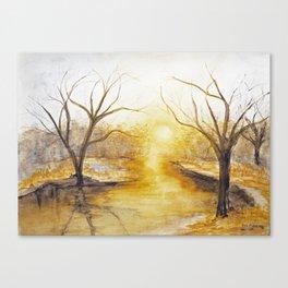 Spring Thaw Canvas Print