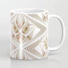 "Art Deco 39. "" Flo  "". Coffee Mug"