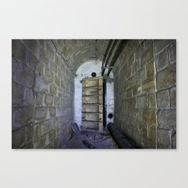 Fallout shelter entryway Canvas Print