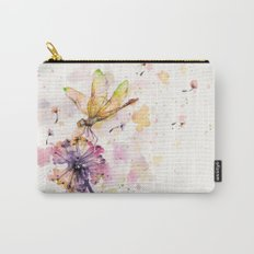 Dragonfly & Dandelion Dance Carry-All Pouch