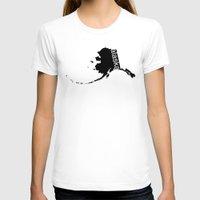 alaska T-shirts featuring Alaska by Isabel Moreno-Garcia