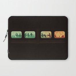 Ground Zero - Zombie Subway Laptop Sleeve