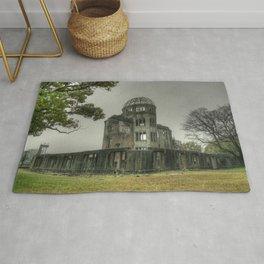Hiroshima Atomic Dome Rug