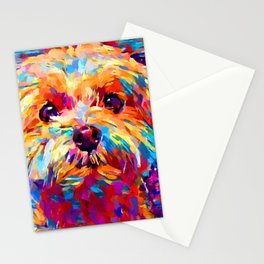 Maltese 3 Stationery Cards