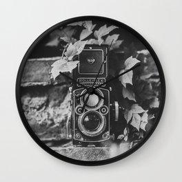 Leafy Rolleiflex 2.8F Wall Clock