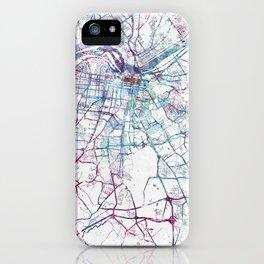 Louisville map iPhone Case