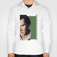 benedict cumberbatch Hoodies featuring Benedict Cumberbatch by GinHans