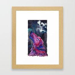 Constellation Canis Major Framed Art Print