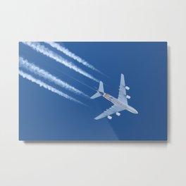 Airbus A380 Etihad Airways, 12200m Metal Print