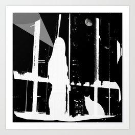 Midnight Call Art Print