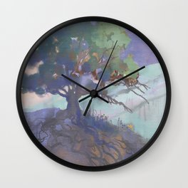The Last of the Poppies Wall Clock