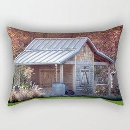 Garden Shed Rectangular Pillow