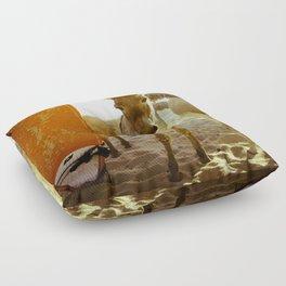 Baby Surfer Dunkeys Floor Pillow