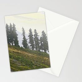 TIMBERLINE TREES Stationery Cards