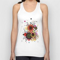 blossom Tank Tops featuring Blossom by Kakel