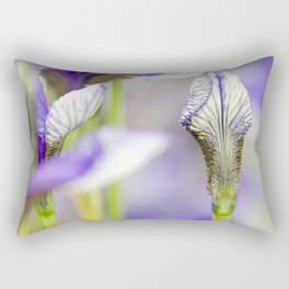Flight of Butterflies Iris Rectangular Pillow