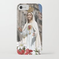 madonna iPhone & iPod Cases featuring Madonna by Frau Fruechtnicht